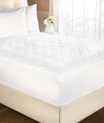 Quiet Waterproof Quilted Mattress Pads