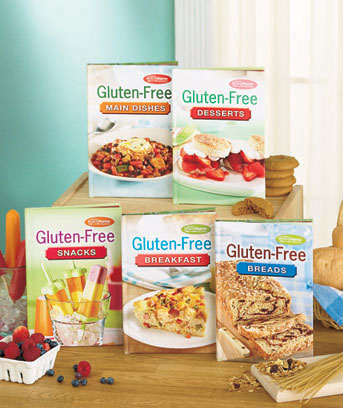 Diabetic or Gluten-Free 5-Book Sets