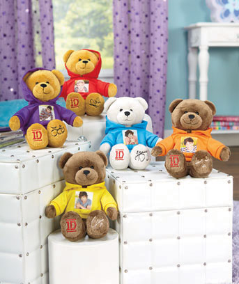 One Direction Plush Bears