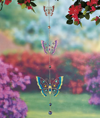 3-Tier Stained Glass Sun Catchers