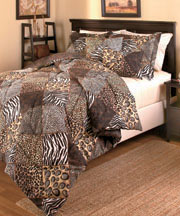 5-Pc. Comforter Ensembles - Animal Patch Full/Queen