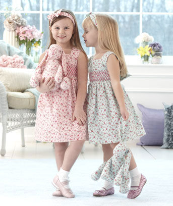 Girls' 3-Pc. Dress Sets