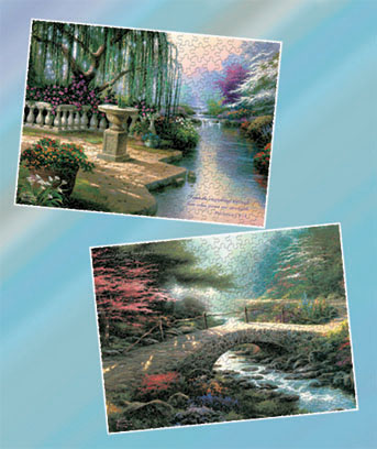 Thomas Kinkade™ 300 Large-Piece Puzzles