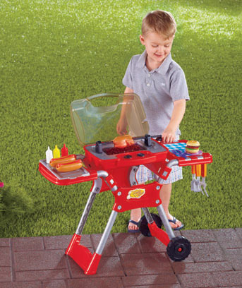 30-Pc. Barbecue Playset