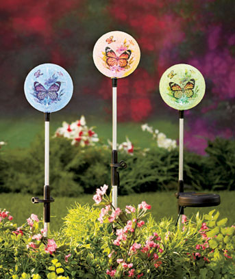 Sets of 3 Solar Accent Lights