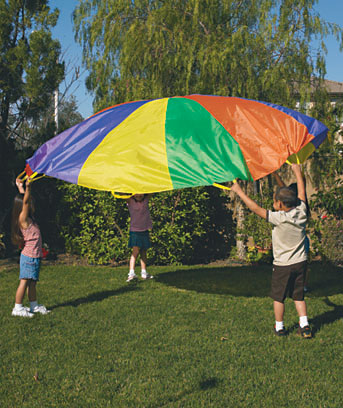 10-Foot Outdoor Activity Parachute
