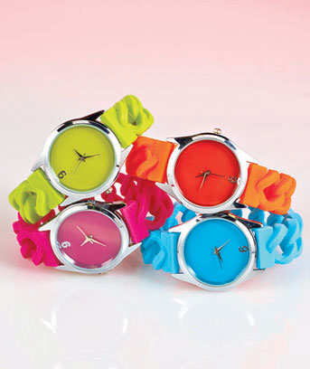 Jelly Stretch Chain Watches