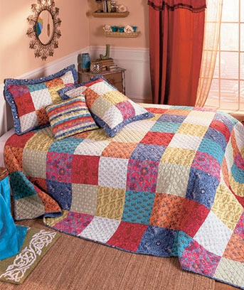 Bright Boho Quilt Collection