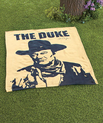 John Wayne Licensed Throw or Folding Chair