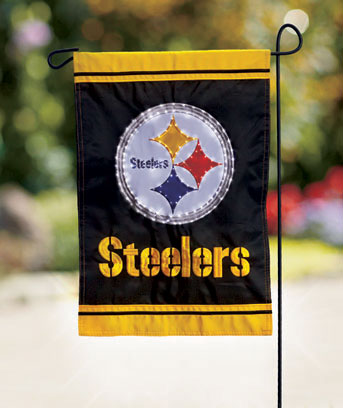 NFL Fiber-Optic Garden Flags