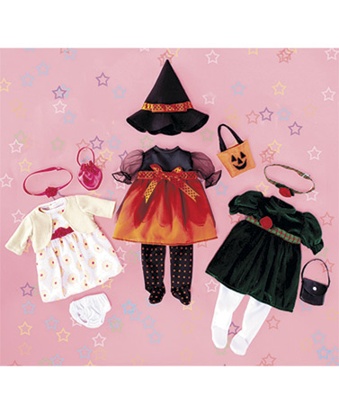 "Set of 3 Holiday Outfits for 18"" Dolls"