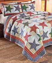 Plaid Quilts or Shams