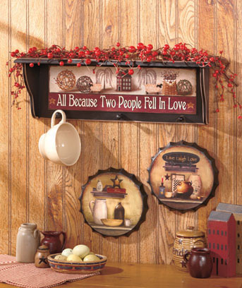 Country Sentiment Wall Collection