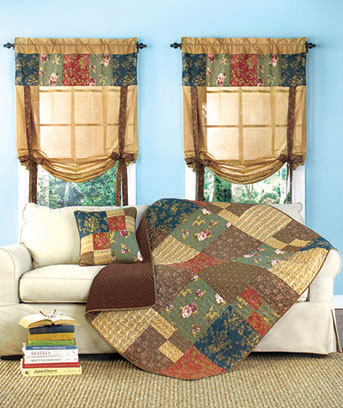 Rachel Patchwork Home Accents