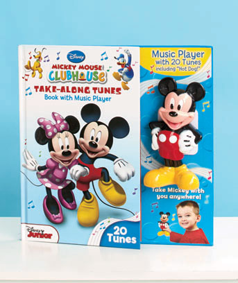 Mickey Mouse Clubhouse Disney Take-Along Tunes Book