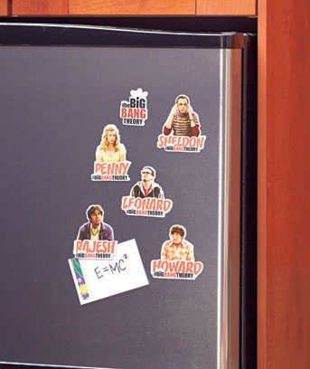 Big Bang Theory™ Set of 6 Magnets