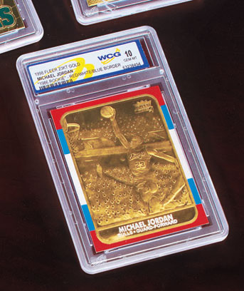 Sports Superstars 23 Karat Gold Cards