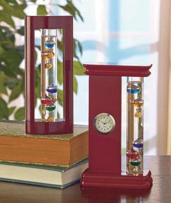 Tabletop Galileo Thermometers