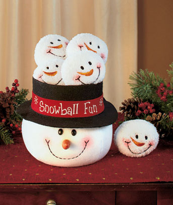 Snowball Fun Decoration
