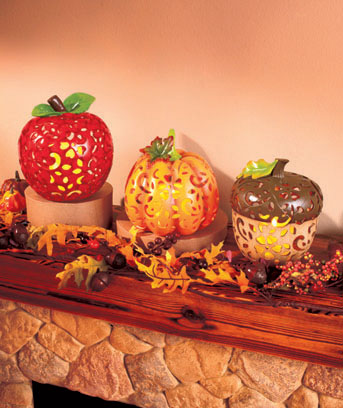 Harvest LED Candle Lighted Decor