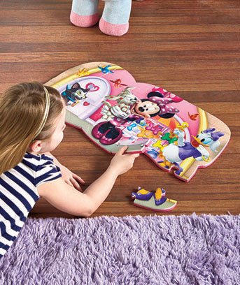 Minnie Licensed Foam Floor Puzzle