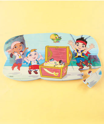 Jake & Neverland Pirates Licensed Foam Floor Puzzle