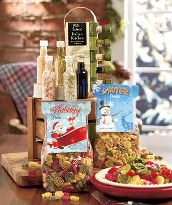 Festive Pasta or Seasonings Gift Sets