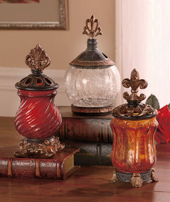 Elegant Glass Jars