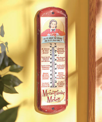 Large Vintage-Inspired Thermometers