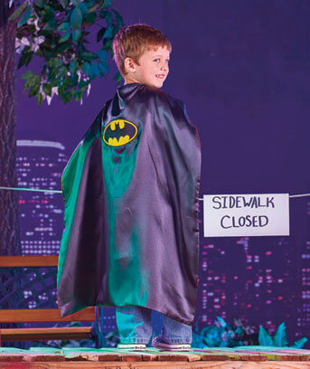 Reversible Superman™Batman™ Cape