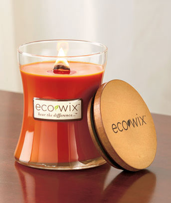 Pumpkin Eco Wix™ Woodwick Candle