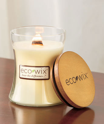 Vanilla Cedarwood Eco Wix™ Woodwick Candle