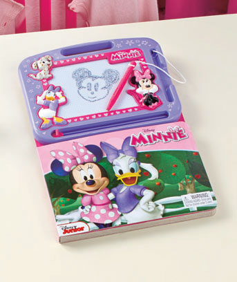 Minnie Mouse Licensed Drawing Pad Activity Book