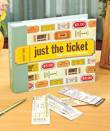 Ticket Stub Organizer Album