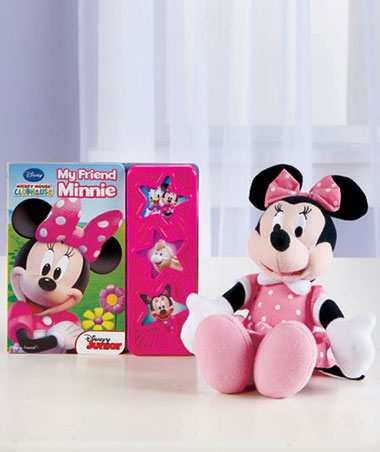 Minnie Mouse Licensed Book & Plush