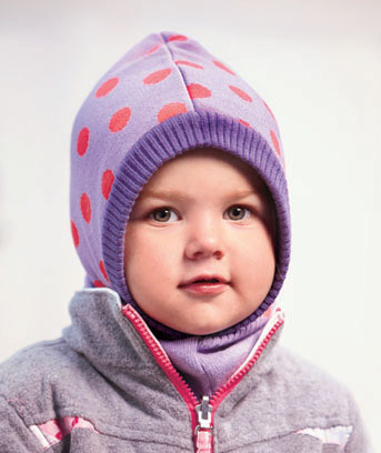 Toddler's Reversible Cold Weather Hoods