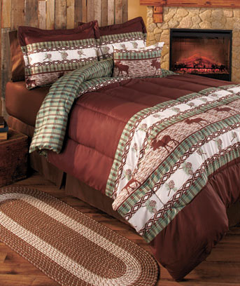 Moose Lodge Comforter Sets