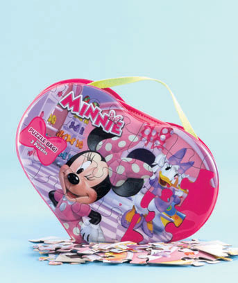 Minnie Licensed Carry 'n' Go 3-Puzzle Purse