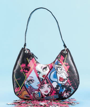 Monster High Licensed Carry 'n' Go 3-Puzzle Purse