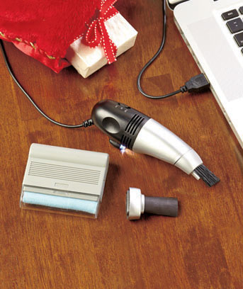 USB Vacuum and Screen Cleaner Set