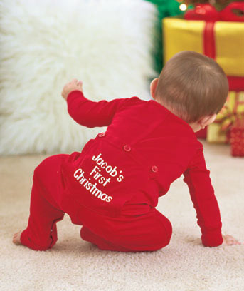 Personalized Infant Long Johns