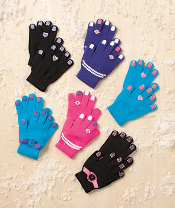 6-Pair Kids' Glove Sets