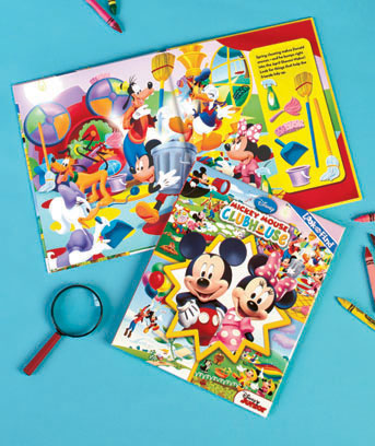 Mickey Mouse Clubhouse Licensed Look & Find� Book