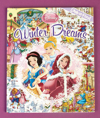 Princess Winter Dreams Licensed Look & Find� Book