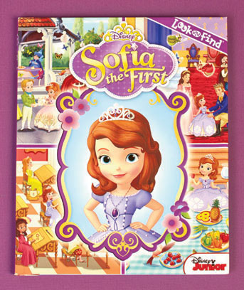 Sofia the First Licensed Look & Find� Book