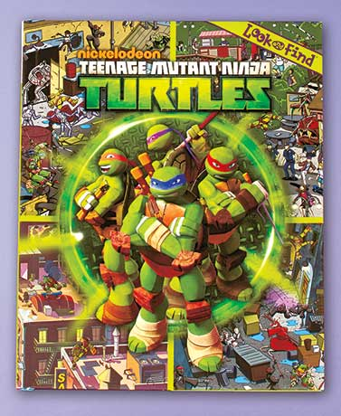 Teenage Mutant Ninja Turtles Licensed Look & Find� Book