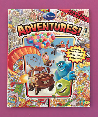Pixar Adventures Licensed Look & Find� Book
