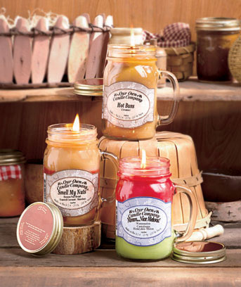 Sassy Scented Mason Jar Candles