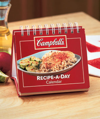 Campbell's Recipe-A-Day Perpetual Calendar Cookbook