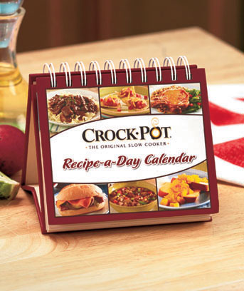 Crockpot Recipe-A-Day Perpetual Calendar Cookbook